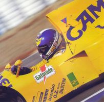 Derek Warwick (Spain 1990) by F1-history