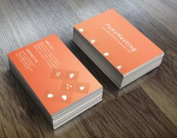 Photoshop free business card PSD by NikCompany