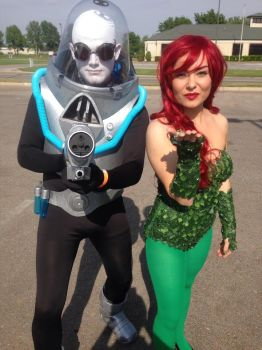 Mr Freeze and Poison Ivy Cosplay by MrPruitt