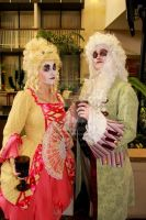 Rococo Couple by MooneWolfe
