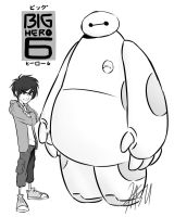 Big Hero 6 by kasuouhhitachiin