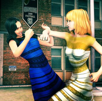 It's white and gold, dammit! by deslea