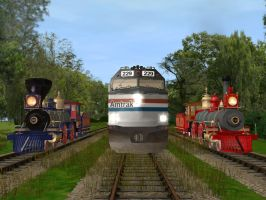 Happy National Train Day by 736berkshire