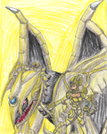 Beast of the Sunstorm by ElementalHeroShadow2