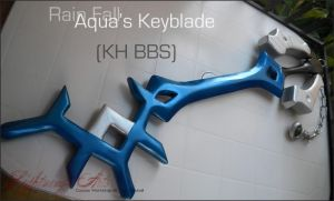 Aqua's Keyblade - Rain fall by LightningTheArtist