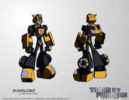 TF:Ignition - Bumblebee (Cybertron Robot Mode) by KrisSmithDW