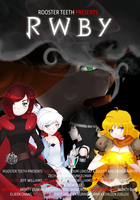 RWBY Movie Poster by TheLozzter5000