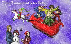 Merry Christmas by Captain-Savvy