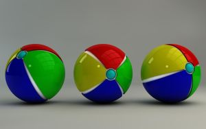 Colorful Balls II by Dracu-Teufel666