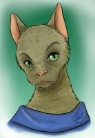 Chat humanoide - Humanoid Cat by Luckytrefle