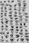 39 male anime eyes by eliantART