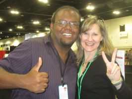 Me and Veronica Taylor by mylesterlucky7