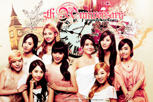 Girls Generation 5th Anniversary by foreverGIKWANG
