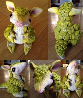 Realistic Pokemon Sandshrew sculpture - SOLD by Mel2DaIssa