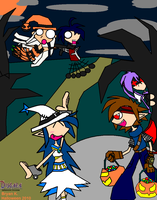 Disgaea Halloween by Firewarrior117