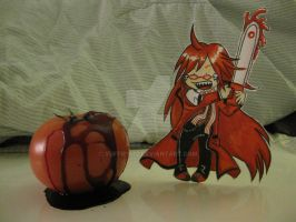 Grell Sutcliff :Paper Child: by Yuffie1972