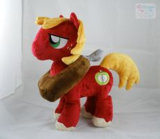 MLP: FiM Big Macintosh Plushie by LiLMoon
