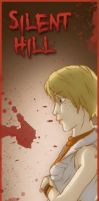 Silent Hill bookmarks- Heather by MidoriEyes
