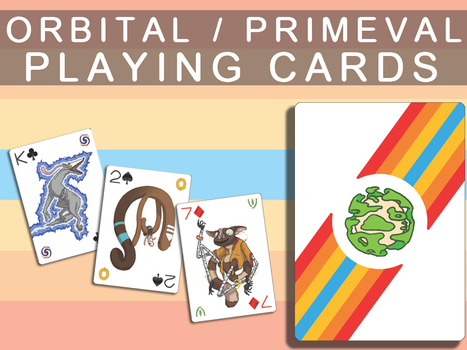I Made Playing Cards! by Orbital-Primeval