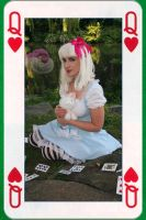 Alice in Wonderland Card by wotchertonks7