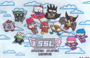 Sanrio Super League by BakerChemi