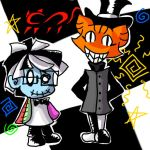 Random Puppet and cat hatter by leia