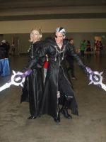 Otakon 08 - Larxene and Xigbar by SharinganWarrior77