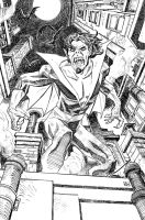 Morbius the Living Vampire by deankotz