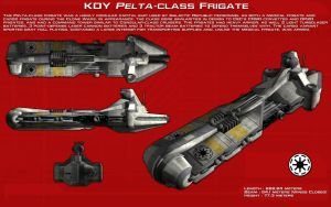 Pelta-class frigate ortho [1][New] by unusualsuspex