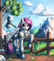 Knight Celestia by Sceathlet