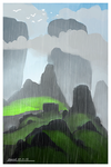 afternoon rain by ehecod