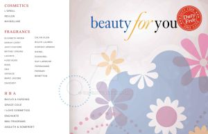BEAUTY FOR YOU COSMETIC POSTER by Omi06