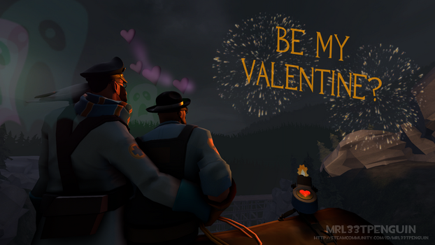 Will you be my Valentine? by MrL33TPenguin