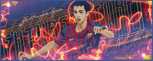 Isaac Cuenca FC Barcelona by akyanyme