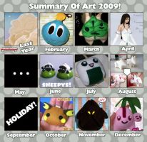 Summary of Art 2009 by Kelzky
