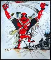 And this is why I can't die! DEADPOOL PRACTICE by neuronboy42