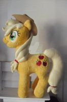 My Little Pony Applejack Plushie by CINNAMON-STITCH