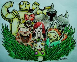 League of Friends by BakaBlueChi