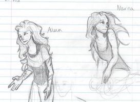 Aileen and Marisa by NeverStop13