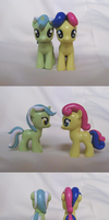 Bon Bon and Lyra Customs by Amandkyo-Su