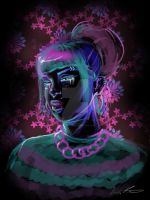 Neon Tears by VickiBeWicked