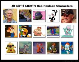 My Top 13 Favorite Rob Paulsen Characters by HimeRoseChibiChan