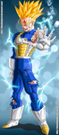 Trunks SSJ2 by HomolaGabor