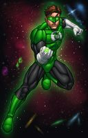 The Green Lantern by ConfuciusRetaliation