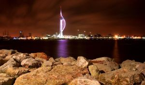Portsmouth's Spinnaker Tower by voodoosimon