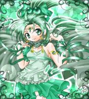 Emerald Dancer by ferus