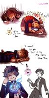 Bipper Doodles by Minryll