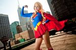 Classic Super Girl - DC Comics by Mostflogged