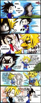 Don't do Pranks with Cloud by elleinead