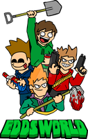Crewshot t-shirt design by eddsworld